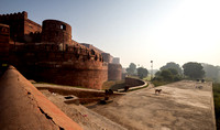 Agra Fort at Dawn.
